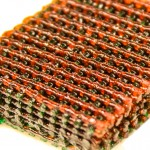 Tough biogel structures produced by 3-D printing
