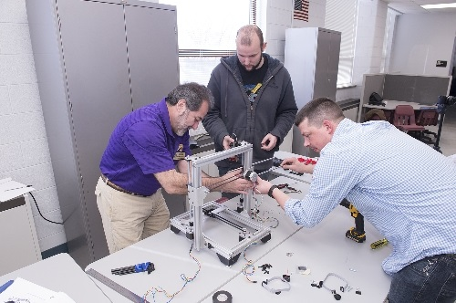 WIU students experience with upgraded technology