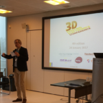 Pieter Hermans opening the 3D Printing Electronics Conference